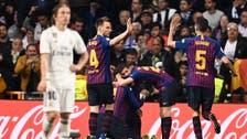 برشلونة ينهي ريال مدريد في 23 دقيقة ويتأهل إلى النهائي