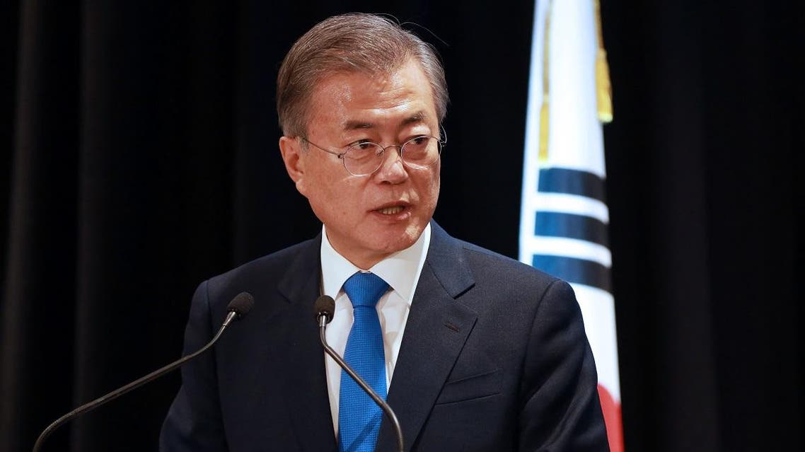 South Korean President Moon Jae-in (AFP)