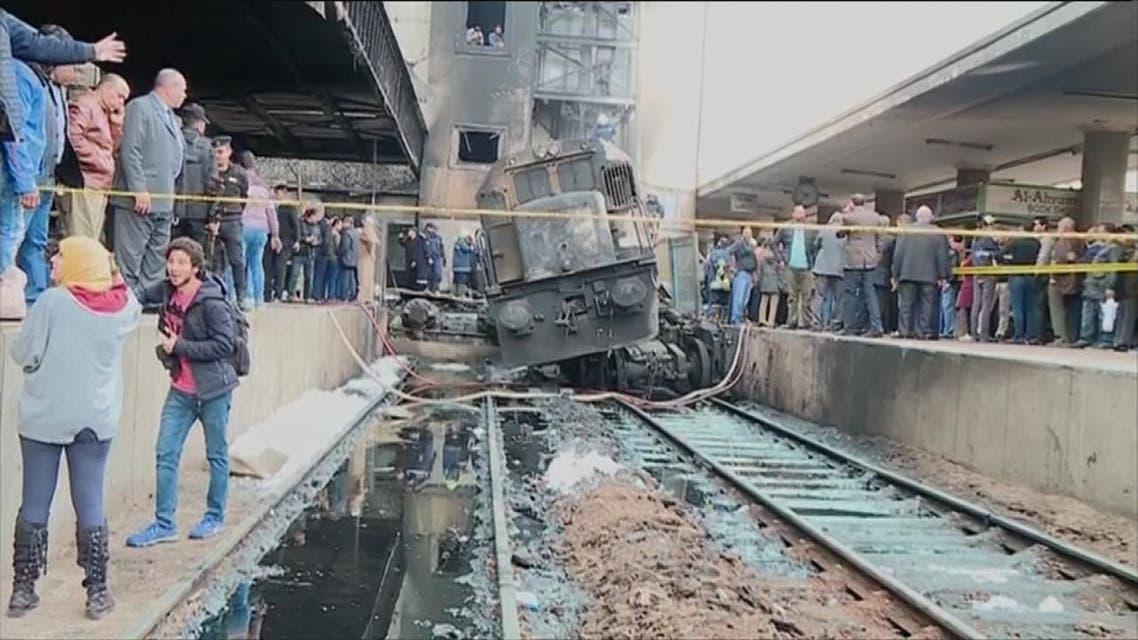 العربية مع أسر ضحايا قطار مصر