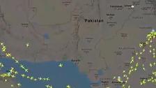 پاکستان نے اپنی فضائی حدود کمرشل پروازوں کے لئے کھول دی