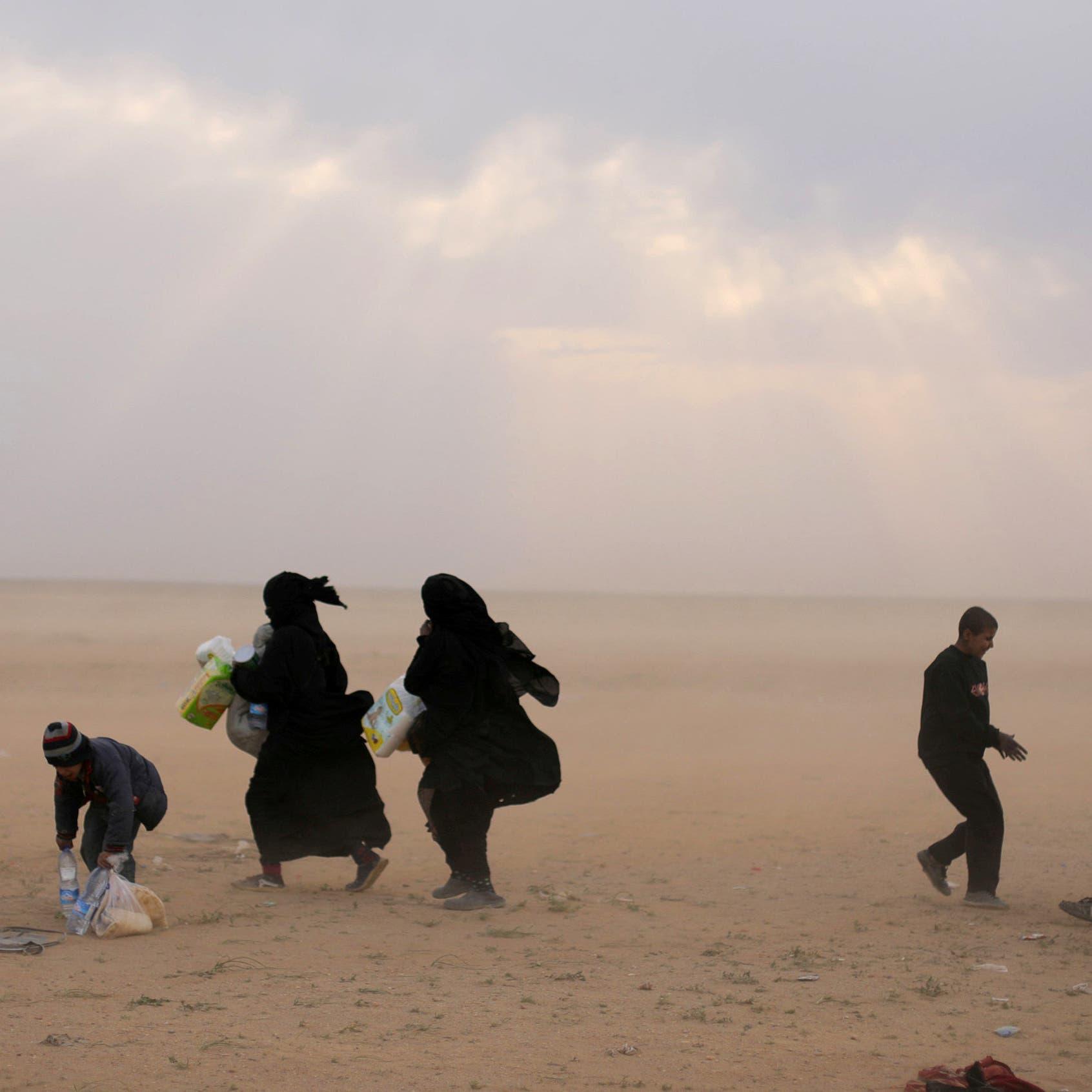 مصرع 84 شخصاً منذ ديسمبر خلال فرارهم من داعش بدير الزور