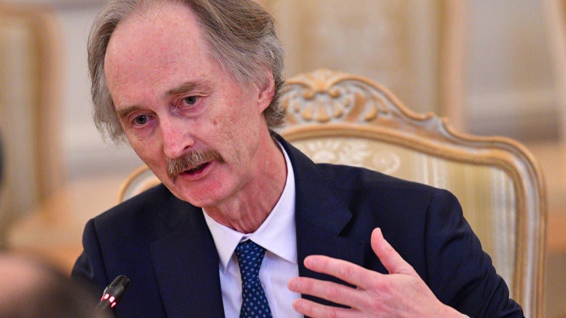 Geir Pedersen UN envoy syria (AFP)