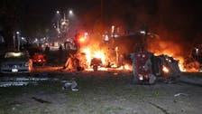 At least 10 killed in bomb, gun attack on Somalia hotel