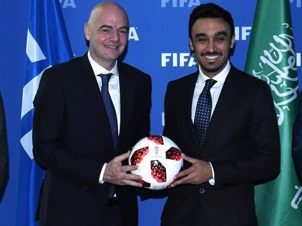 عبدالعزيز بن تركي الفيصل يجتمع مع إنفانتينو