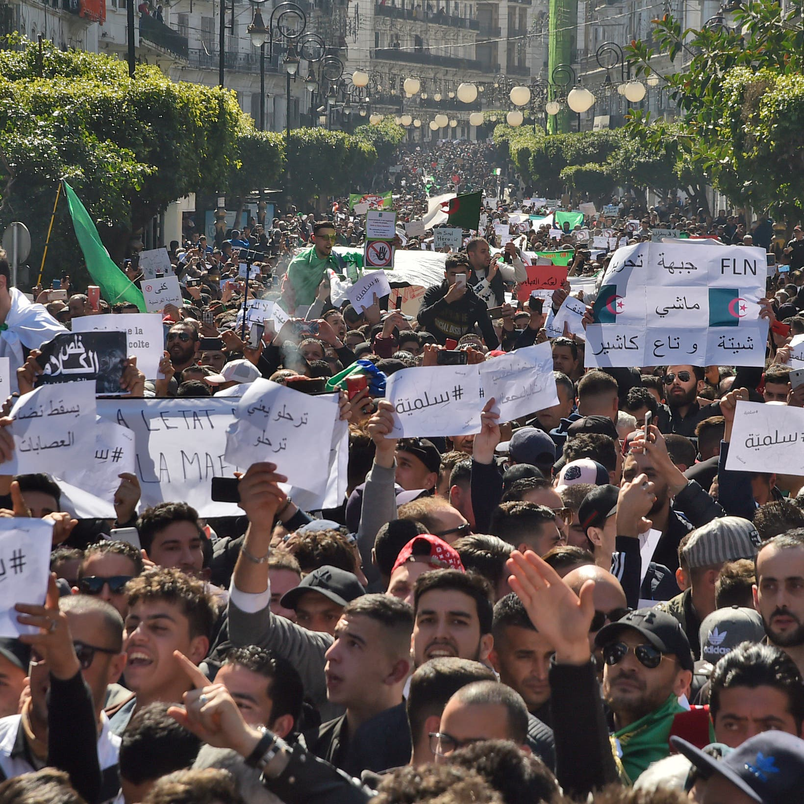 الجزائر.. حراك الجمعة الثانية ضد ترشح بوتفليقة