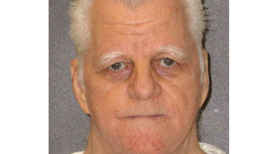 This image obtained from the Texas Department of Criminal Justice shows death row inmate Billie Wayne Coble in a January 2018 booking photo. Coble, 70, on February 28, 2019, is scheduled to become the oldest man executed in Texas since the death penalty was reinstated in the US five decades ago. Coble was convicted for the 1989 murders of three people, the parents and brother of his estranged wife who had asked for a divorce.