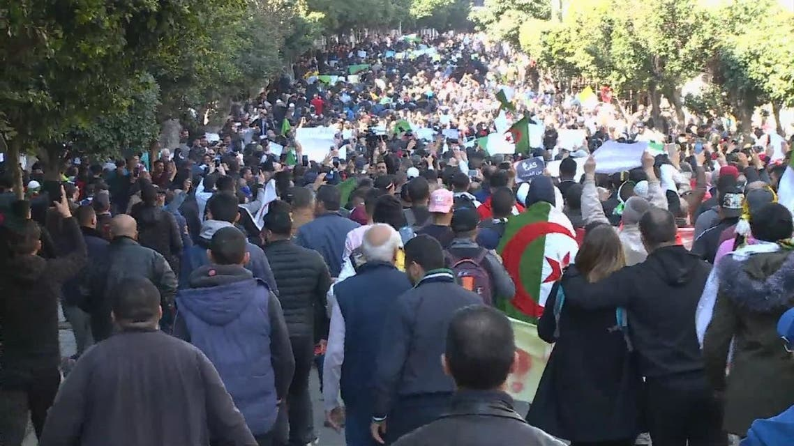 احتجاجات عارمة في الجزائر ضد ترشح بوتفليقة