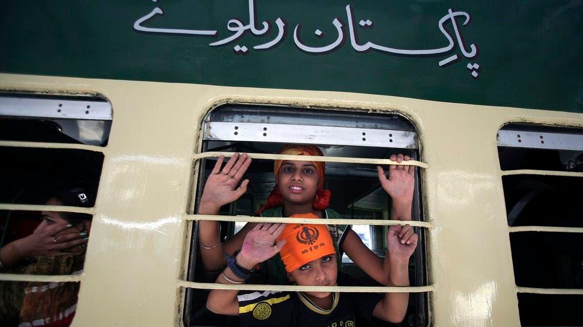 INDIA AND PAKISTAN Samjhauta Express (AP)