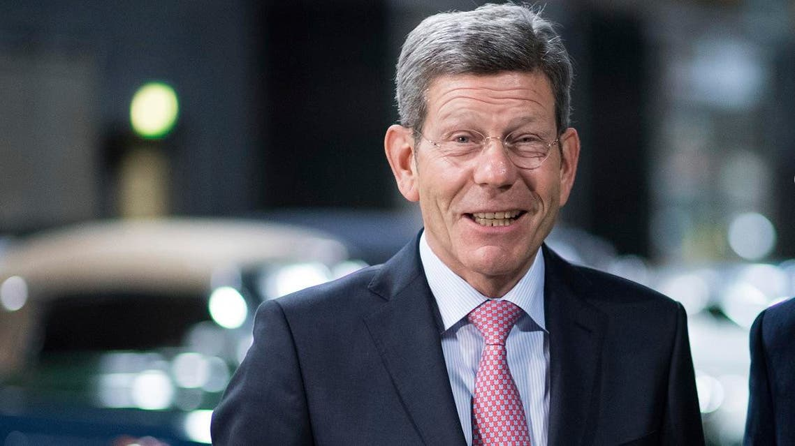 president Bernhard Mattes of German Association of the Automotive Industry (VDA) (AP)