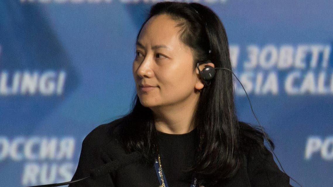 "Meng Wanzhou, Executive Board Director of the Chinese technology giant Huawei, attends a session of the VTB Capital Investment Forum ""Russia Calling!"" in Moscow, on October 2, 2014. (Reuters)"