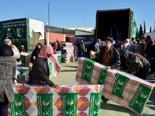 مركز الملك سلمان يوزّع مساعدات للاجئين السوريين بطرابلس
