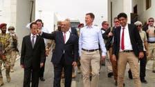UK's Foreign Secretary urges peace efforts on visit to Yemen's Aden