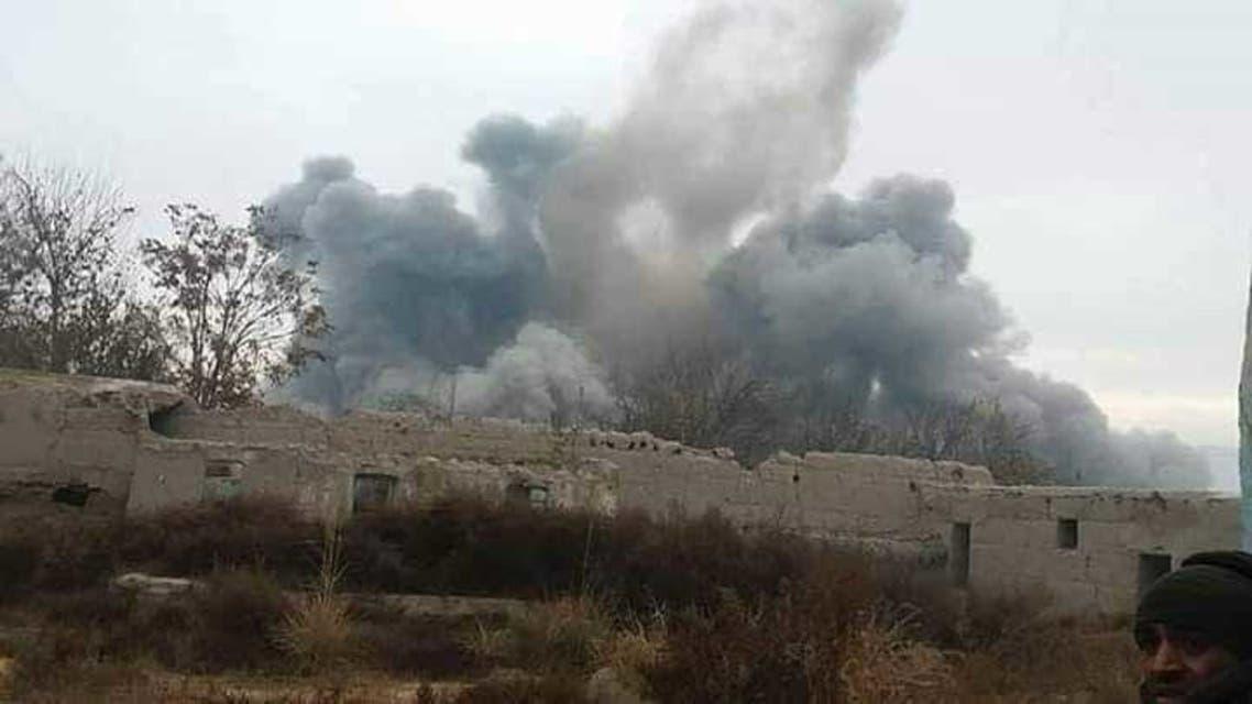 در حملات هوایی ارتش افغان 350 طالب کشته شدند