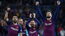Barca hailed as champions-elect after beating Real Madrid