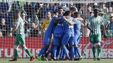 خيتافي يزيد معاناة ريال بيتيس ويصعد للرابع مجدداً