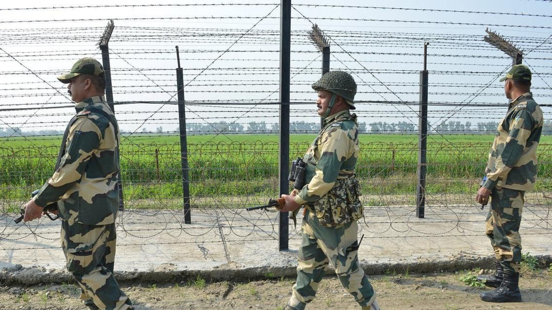 Nuclear-armed neighbors India and Pakistan begin to dial down hostilities, while the crackdown on militant groups continue in a troubled Kashmir as Indian elections approach.  De-escalating tensions between nuclear-armed neighbors India and Pakistan in the past 24 hours is a possible calm before the storm, as Pakistani Kashmir minister says, ' tension still prevails'.  Pakistani Kashmir minister says, 'tension still prevails' on the de facto border between nuclear-armed neighbors India and Pakistan despite a relative calm in the past 24 hours.