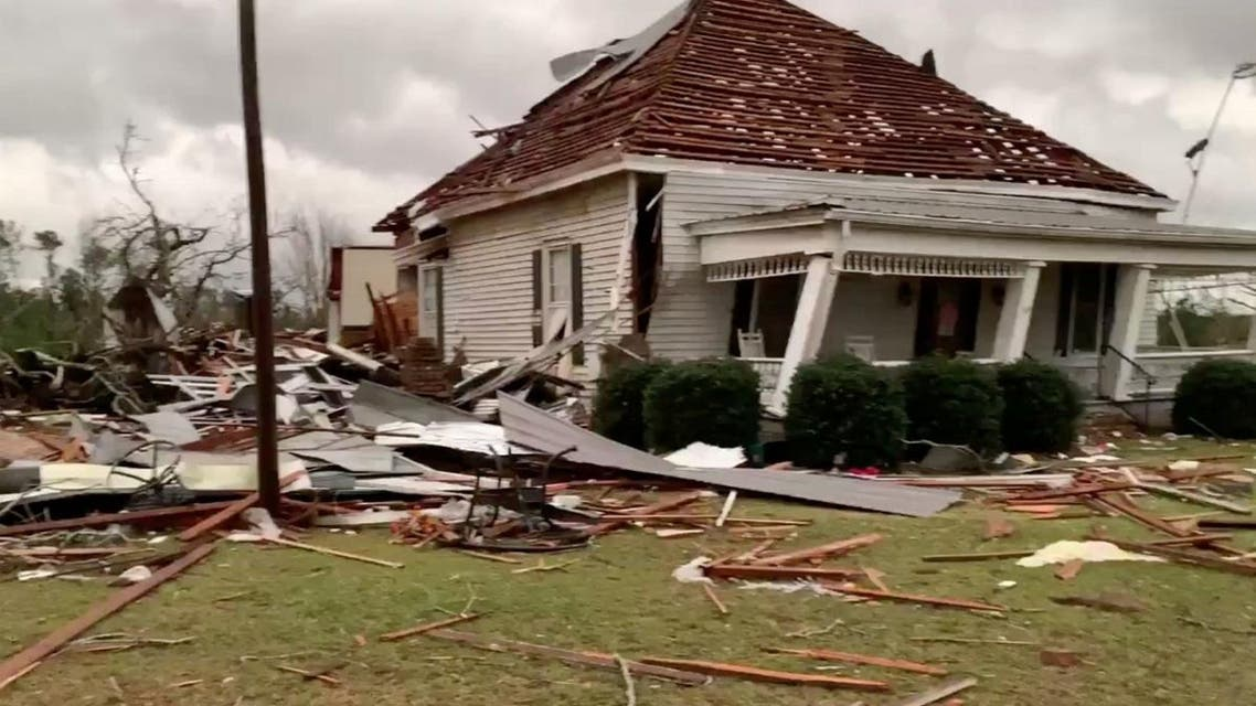 Alabama tornado. (Reuters)