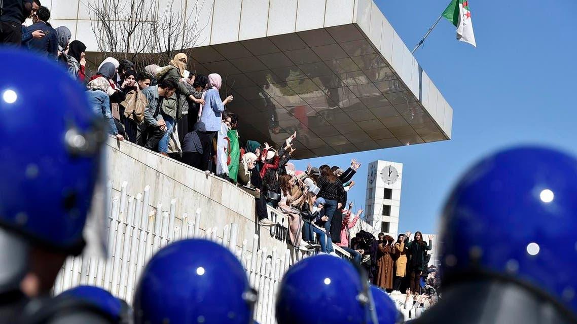 Algeria students protest Abdelaziz Bouteflika 1 (AFP)