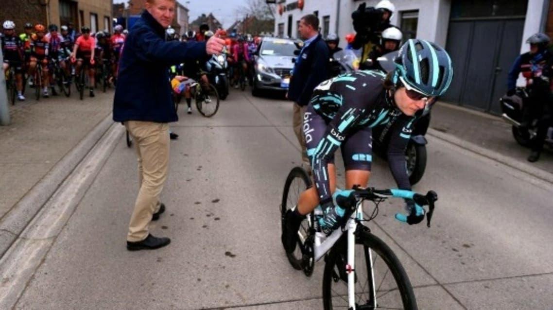 زنان به خاطر مردان، در تور دوچرخه سواری بلژیک متوقف شدند