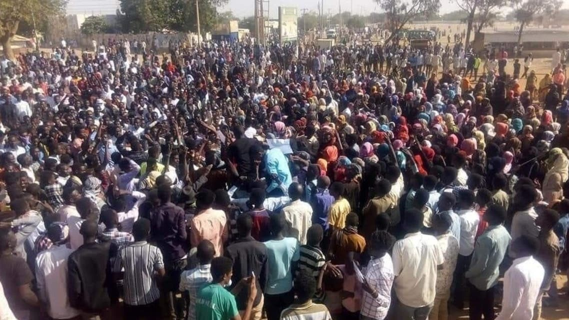 السودان احتجاجات