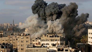 """غارات إسرائيلية على غزة بسبب """"بالونات متفجرة"""""""
