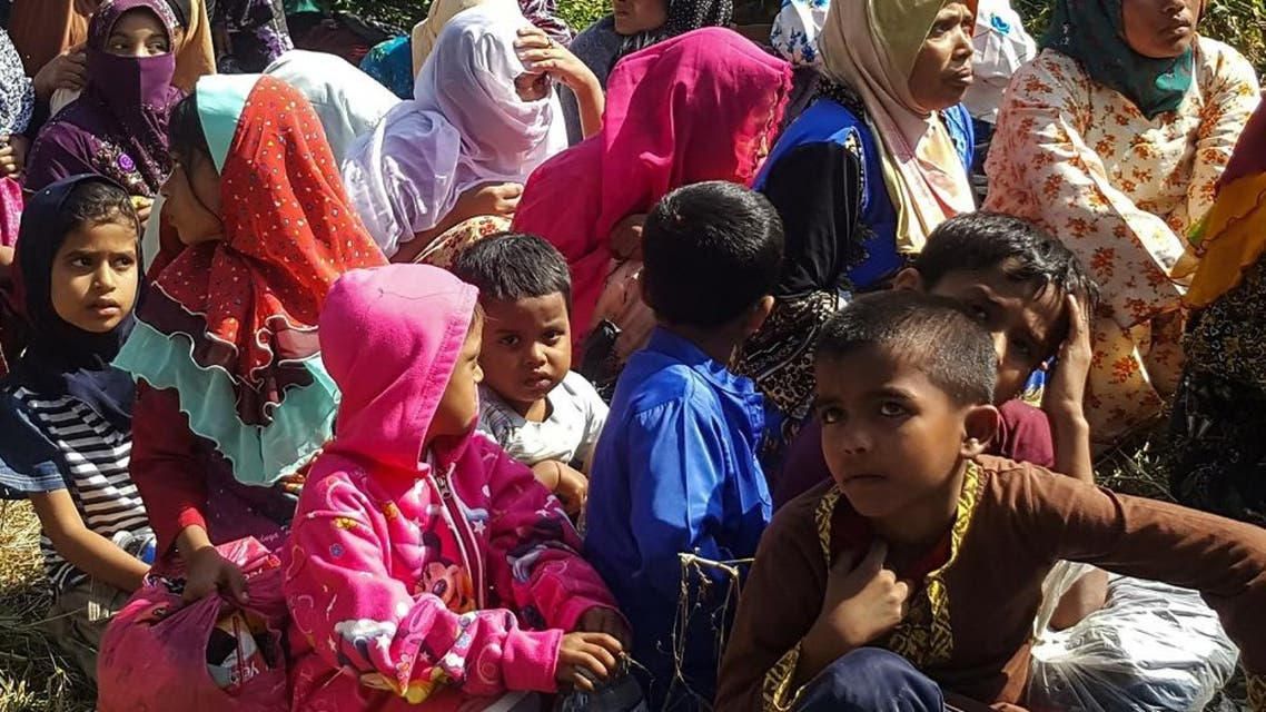 Rohingya refugees afp