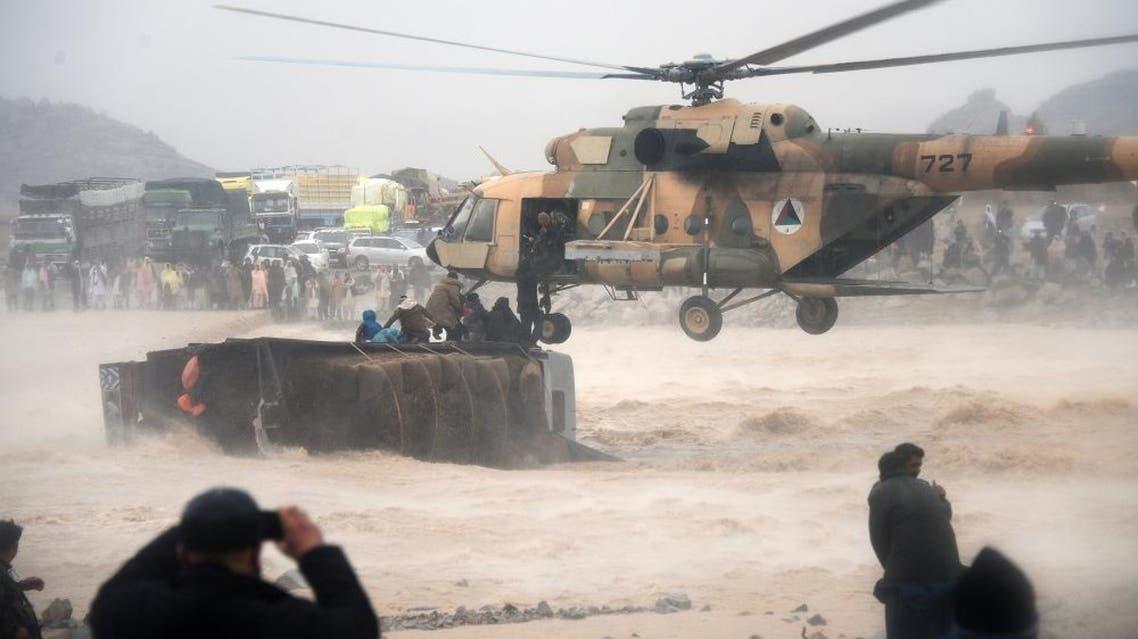 afghanistan floods afp