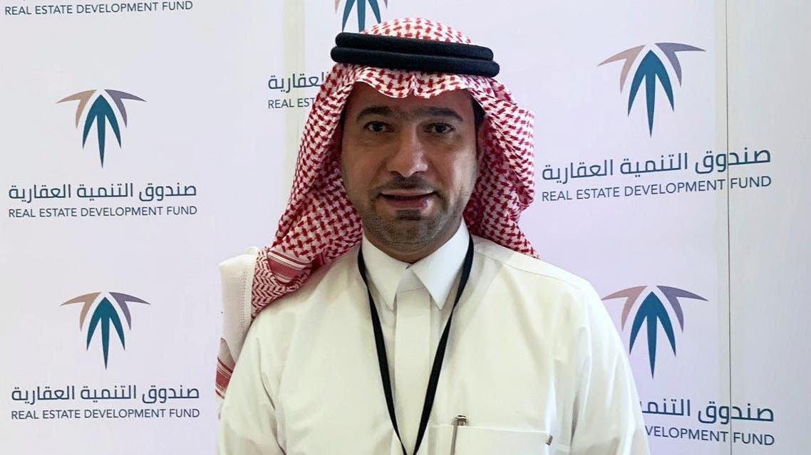 Saudi Arabia's housing minister Majed al-Hogail, poses for a picture during a housing conference in Riyadh on March 6, 2019. (Reuters)