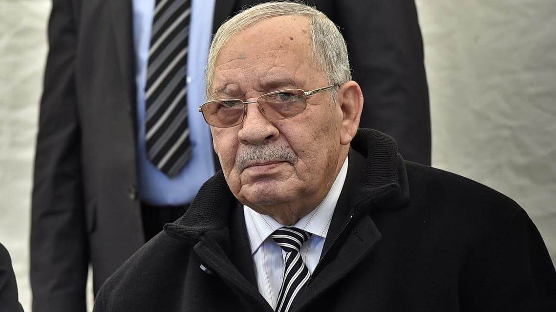 File photo of General Ahmed Gaid Salah, chief of Staff of the Algerian Armed Forces and Vice-minister of Defense. (AFP)