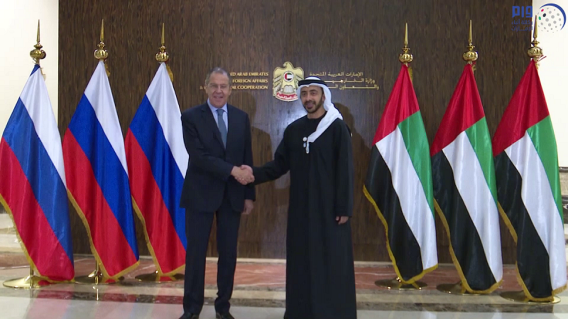 UAE Foreign Minister lavrov abdullah bin zayed