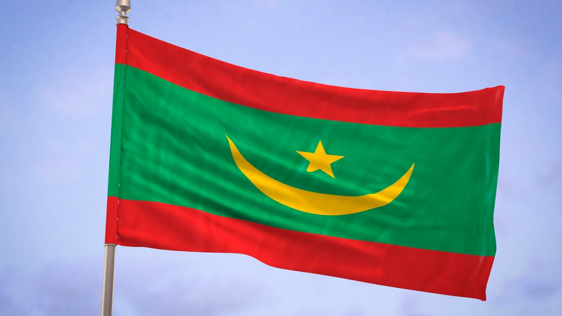 Flag of Mauritania - Stock image