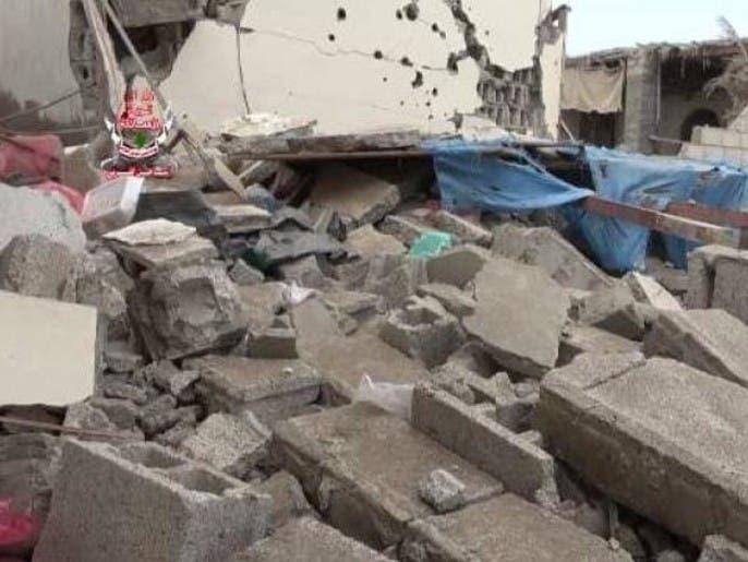مقتل مدني وإصابة آخرين بقصف حوثي على أحياء تعز