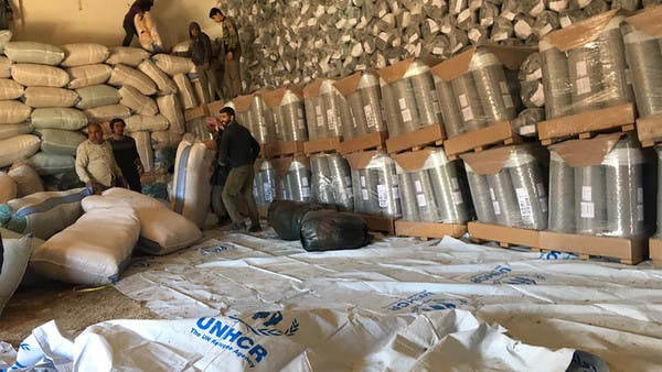 مساعدات إنسانية تصل إلى منبج للمرة الأولى عبر حلب
