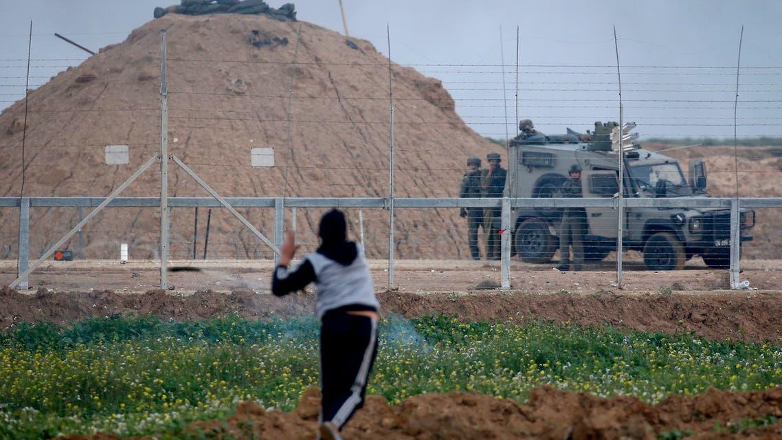 gaza غزة مواجهات الاحتلال