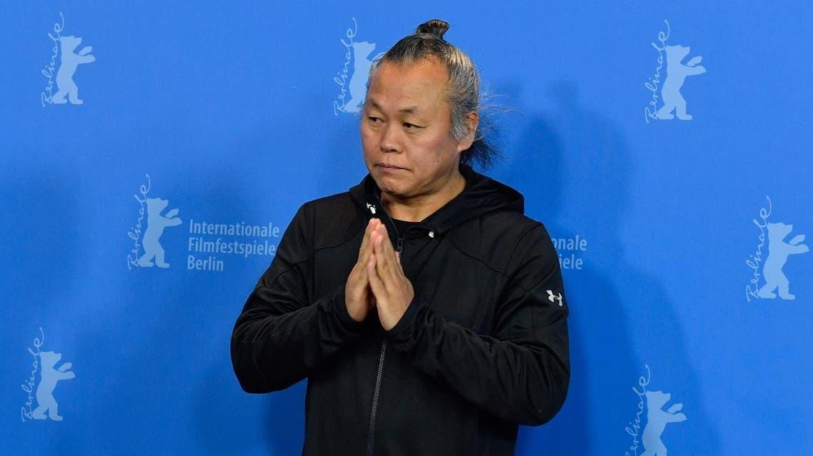 South Korean filmmaker Kim Ki-duk during the 68th Berlinale film festival on February 17, 2018 in Berlin, Germany. (AFP)