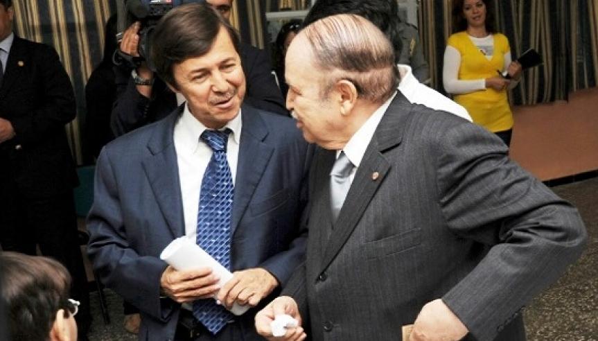 الرئيس الجزائري الراحل عبد العزيز بوتفليقة وشقيقه سعيد