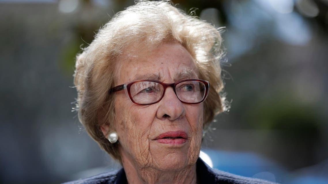 Eva Schloss Anne Frank's step sister  (AP)