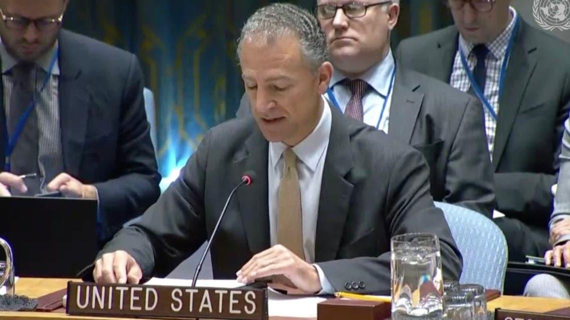 السفير الأميركي بالوكالة لدى الأمم المتحدة جوناثان كوهين