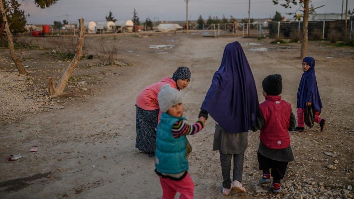 Syria al-Hol camp ISIS (AFP)