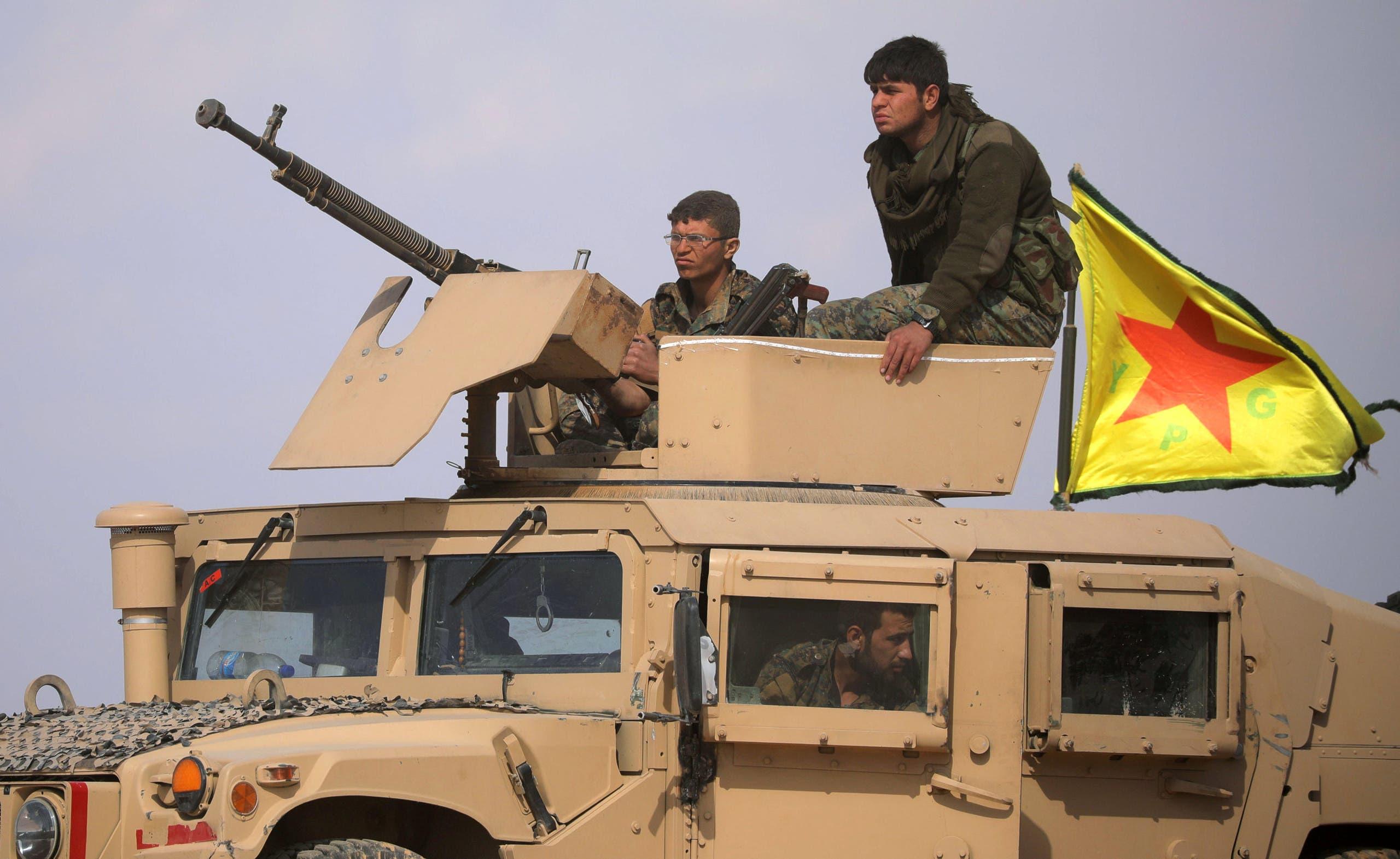 عناصر من قوات سوريا الديمقراطية (أرشيفية)