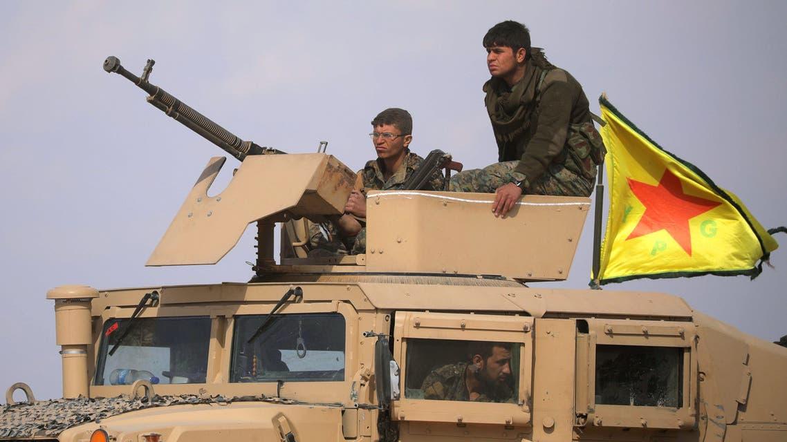 قوات سوريا الديمقراطية قرب الباغوز