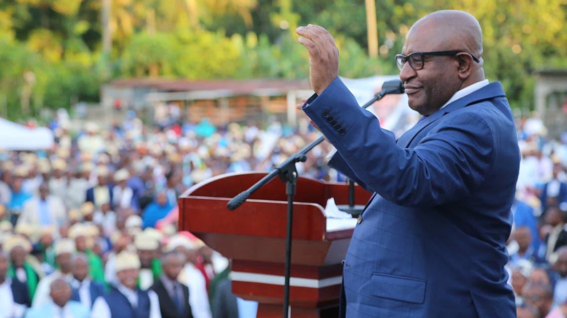 رئيس جزر القمر المنتهية ولايته غزالي عثمان