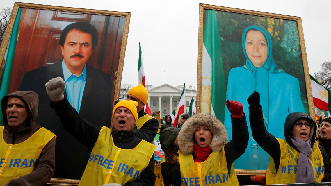 المعارضة الإيرانية تظاهرت في العاصمة الأميركية