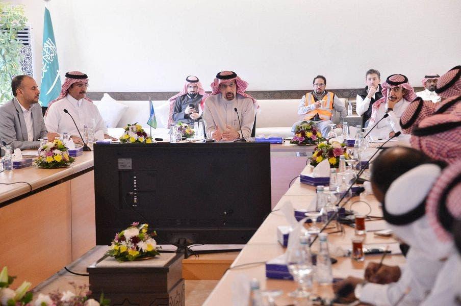 Khalid al-Falih at King Salman Complex (SPA)