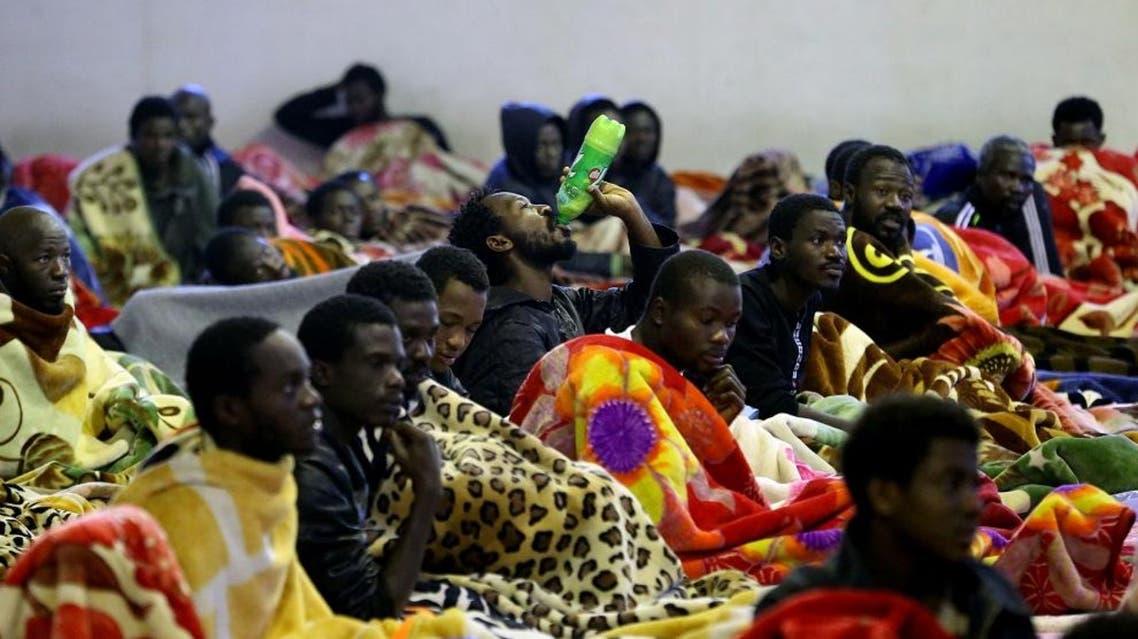 detention center libya afp