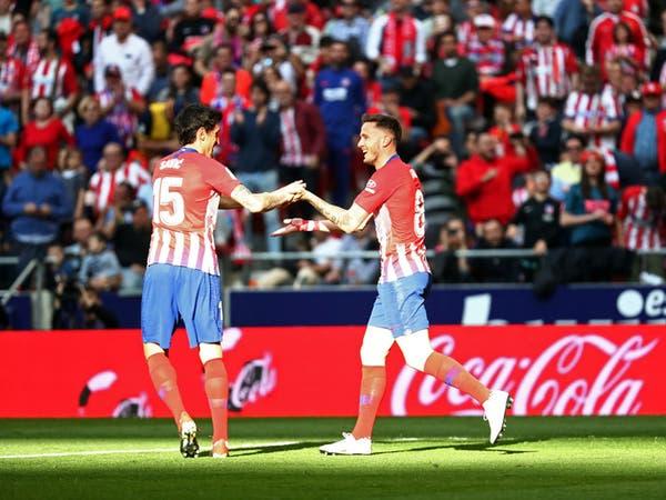 أتلتيكو مدريد يتجاوز ليغانيس ويواصل الضغط على برشلونة
