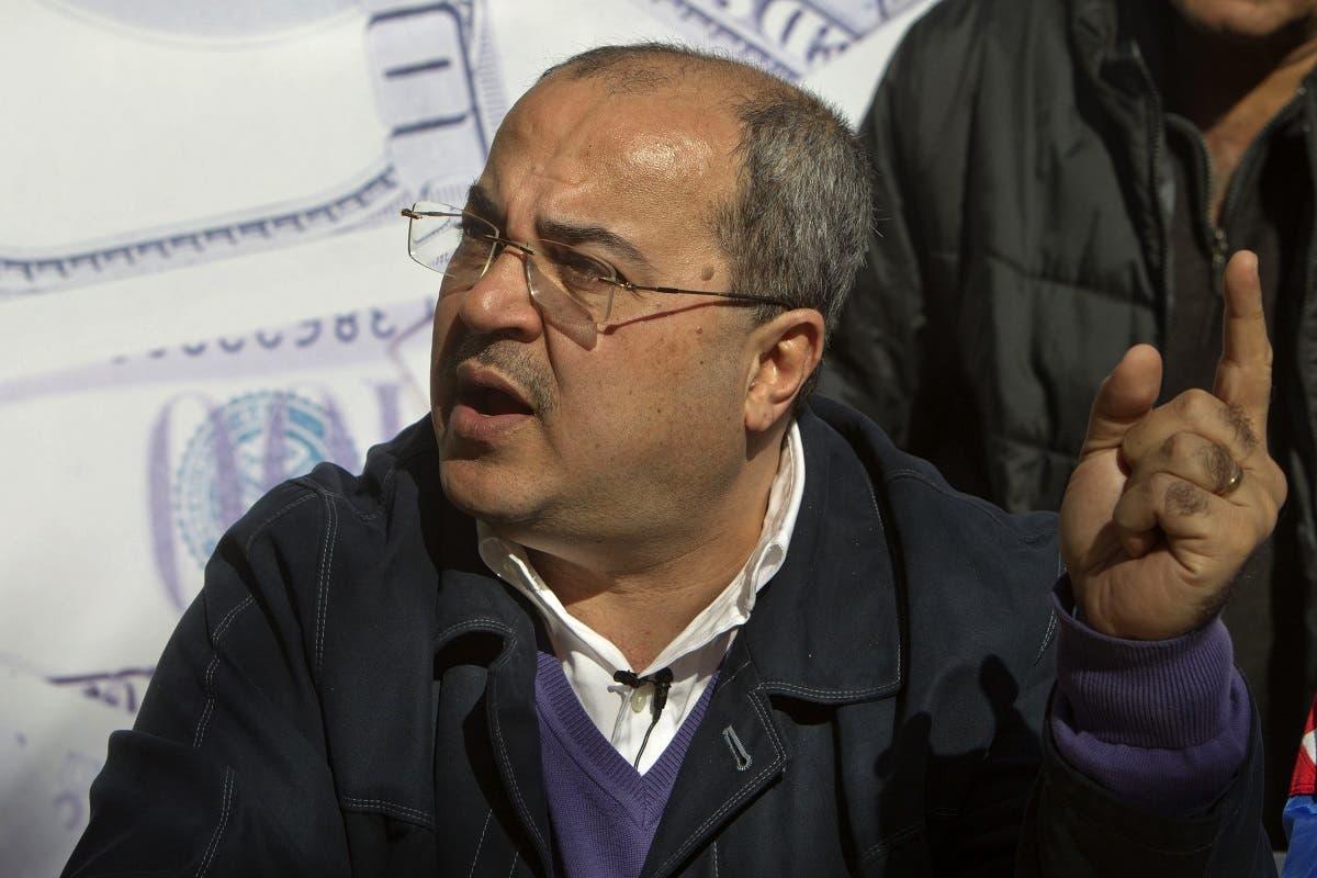 Israel electio Arab lawmaker Ahmad Tibi (AFP)