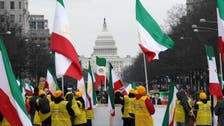 Washington protesters demand 'regime change' in Iran