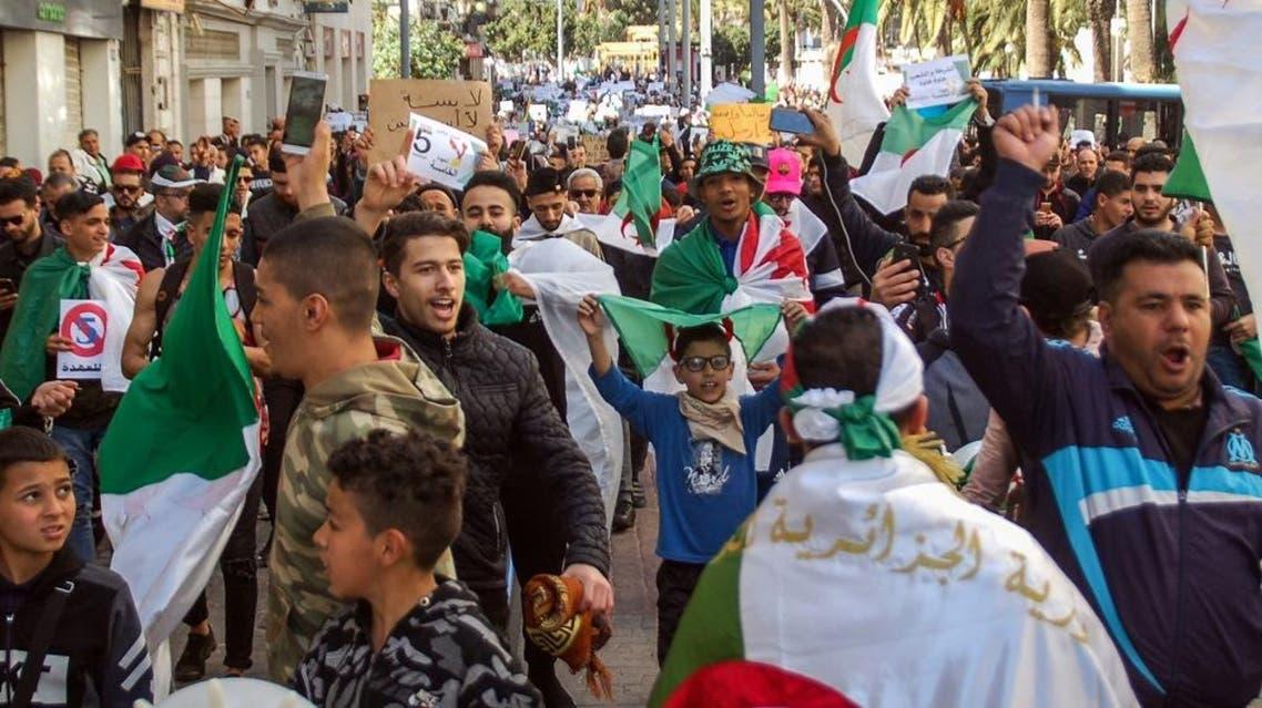 Algeria protest afp