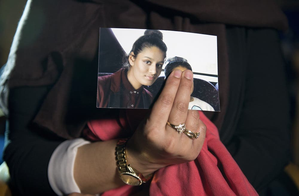 Begum, 21, who is being held in a detention camp in Syria, was stripped of her British citizenship in 2019. (AFP)